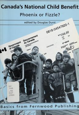 Cover of: Canada's national child benefit | edited by Douglas Durst.