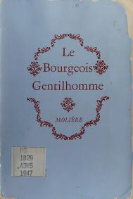 Cover of: Le bourgeois gentilhomme | Molière