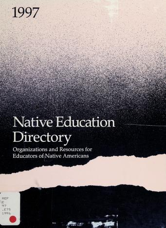 Cover of: Native Education Directory  