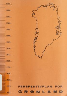 Cover of: Perspektivplan for Grønland 1971-85 | Denmark. Ministeriet for Grønland